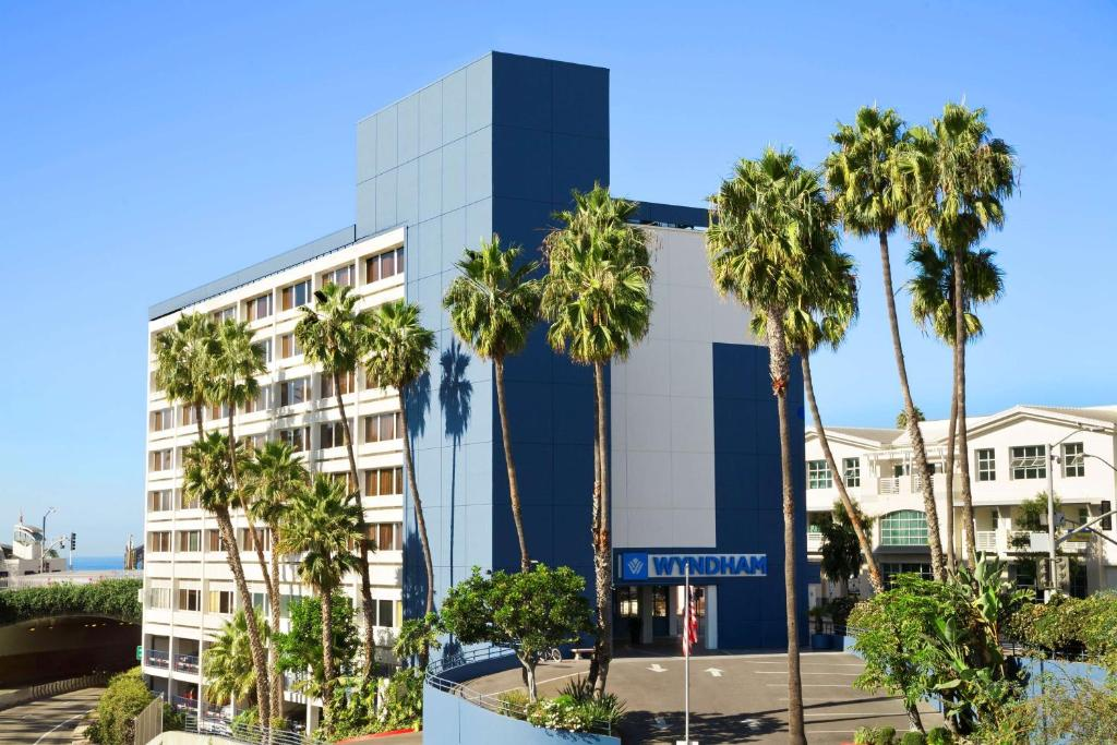 The Wyndham Santa Monica at the Pier.