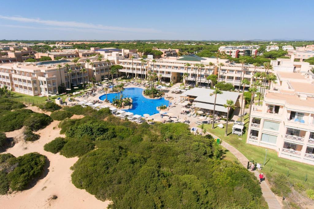 Hipotels Playa La Barrosa - Adults Only a vista de pájaro