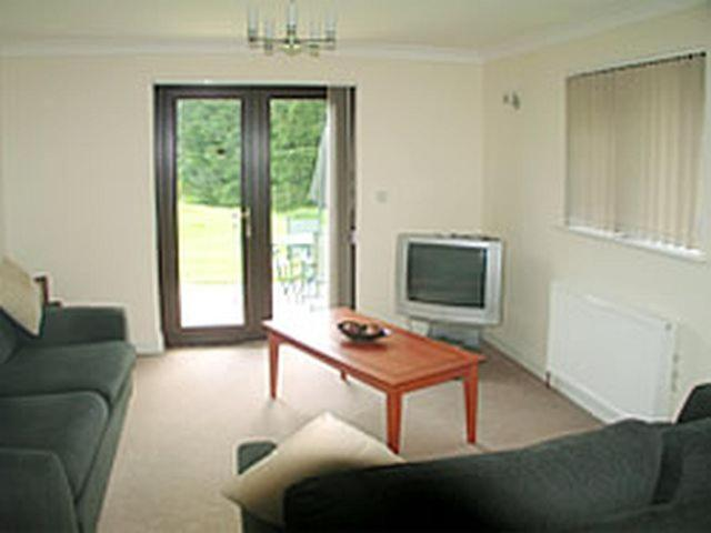 A seating area at Ash Cottage