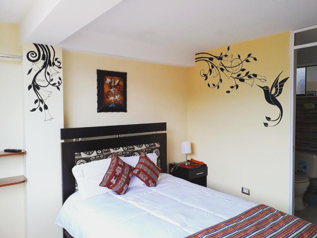 Cama o camas de una habitación en Yanuy Culinary Guest House