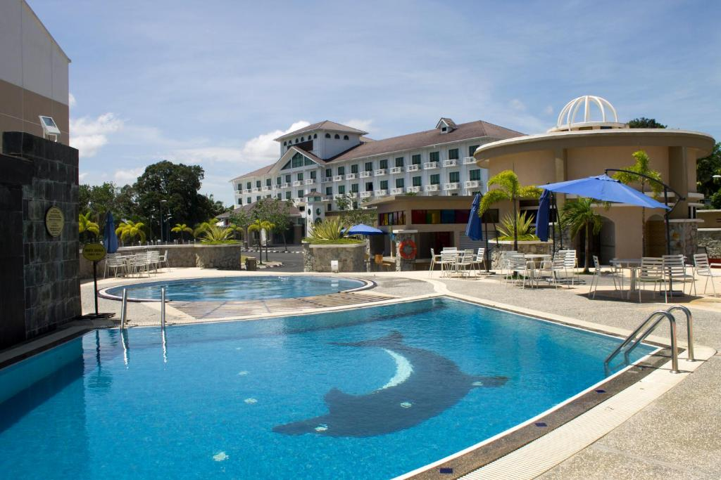 The swimming pool at or near Klana Beach Resort Port Dickson