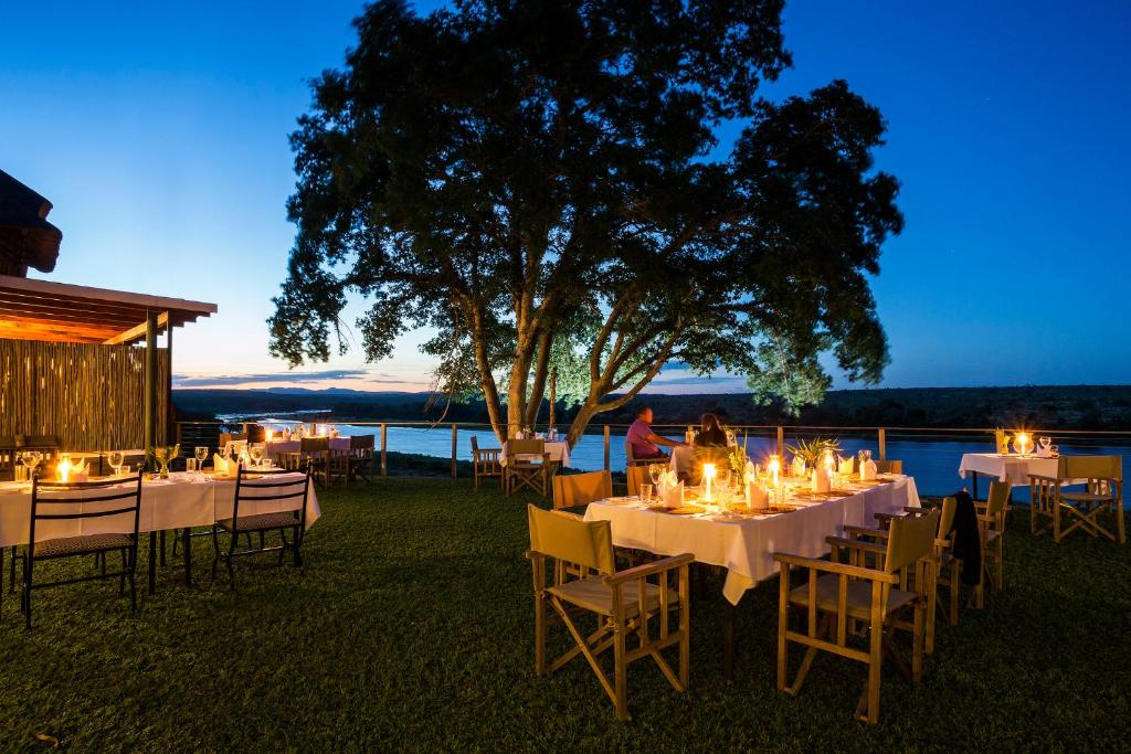A restaurant or other place to eat at Buhala Lodge