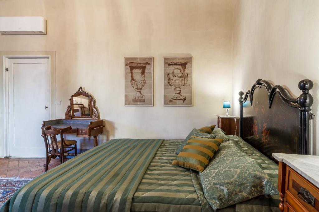 Ein Bett Oder Betten In Einem Zimmer Der Unterkunft Locanda San Marco Residenza Caluri