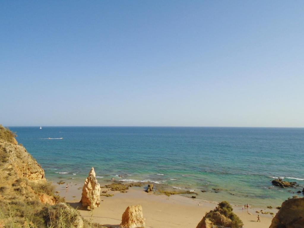 sea view beach apartment, portimão, portugal - booking