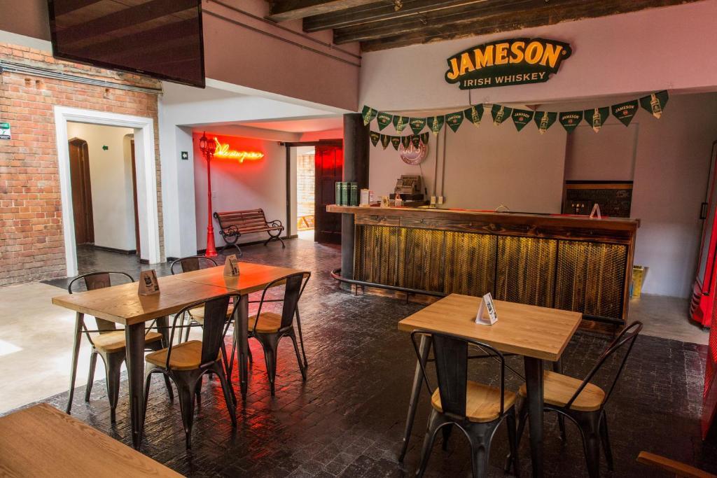 The lounge or bar area at Pícaro Bogotá