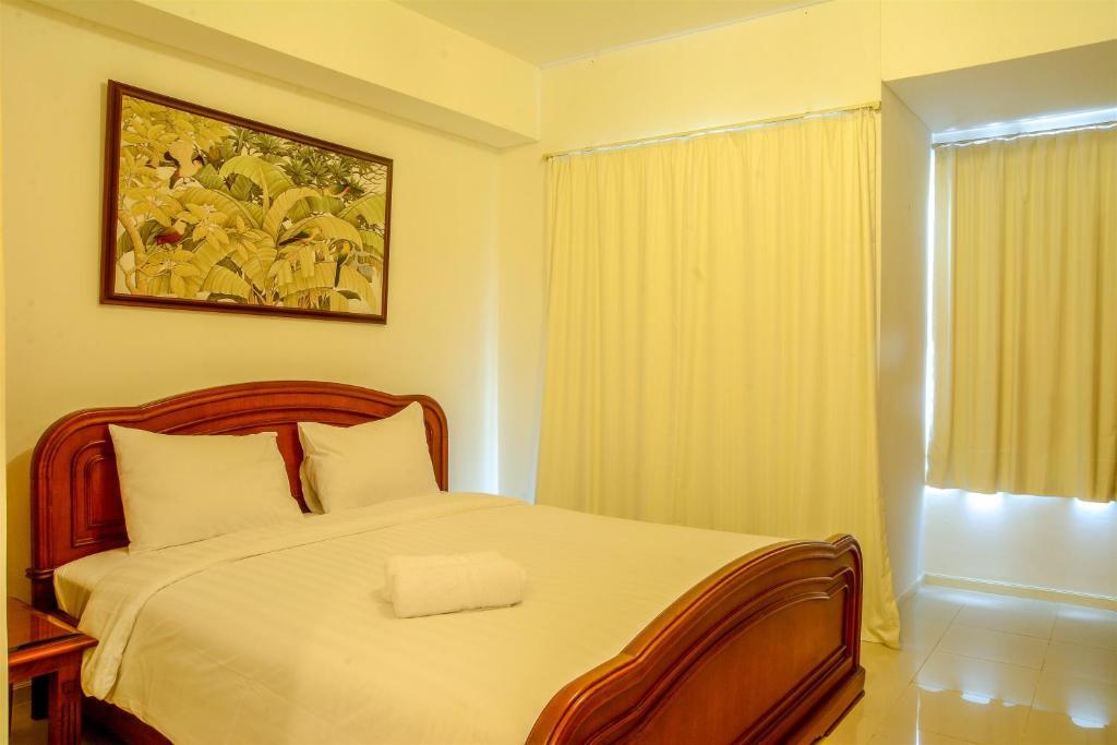 Fine Classic Studio Cosmo Terrace Apartment At Thamrin City By Interior Design Ideas Tzicisoteloinfo