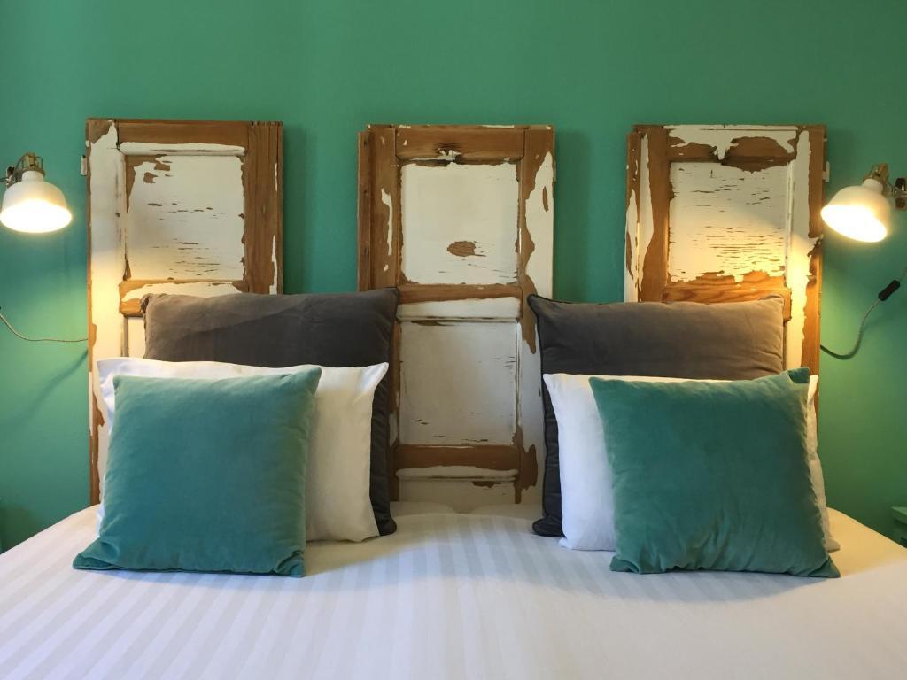 Ліжко або ліжка в номері Casa Verdazul
