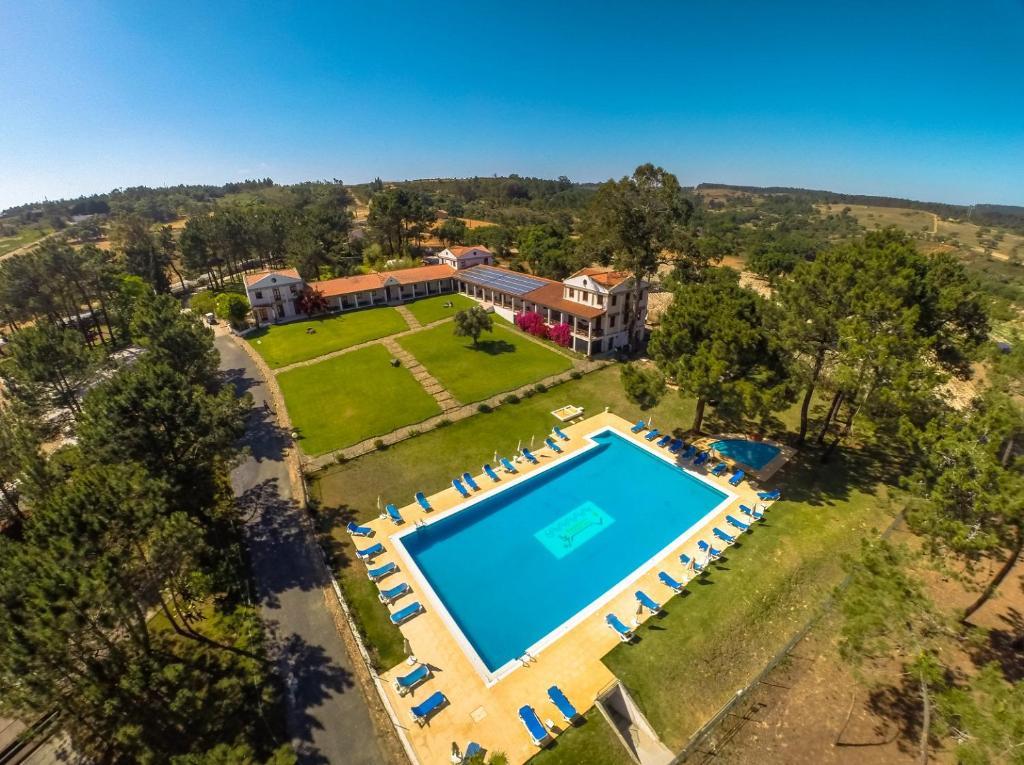 A bird's-eye view of Odeceixe Bungalow-Parque de Campismo Sao Miguel