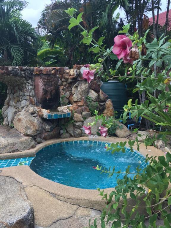 The swimming pool at or near Shanti Lodge Phuket