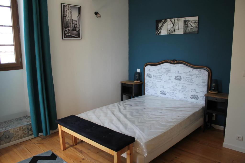Un ou plusieurs lits dans un hébergement de l'établissement le kerente