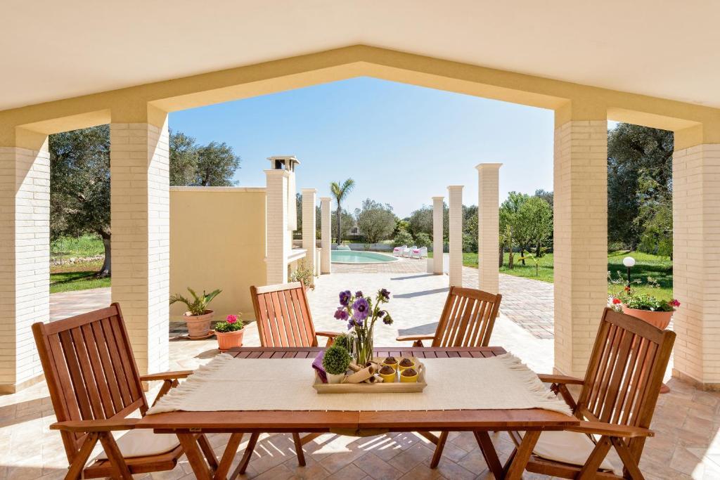 Villa käthe piscina indipendente italien san vito dei normanni