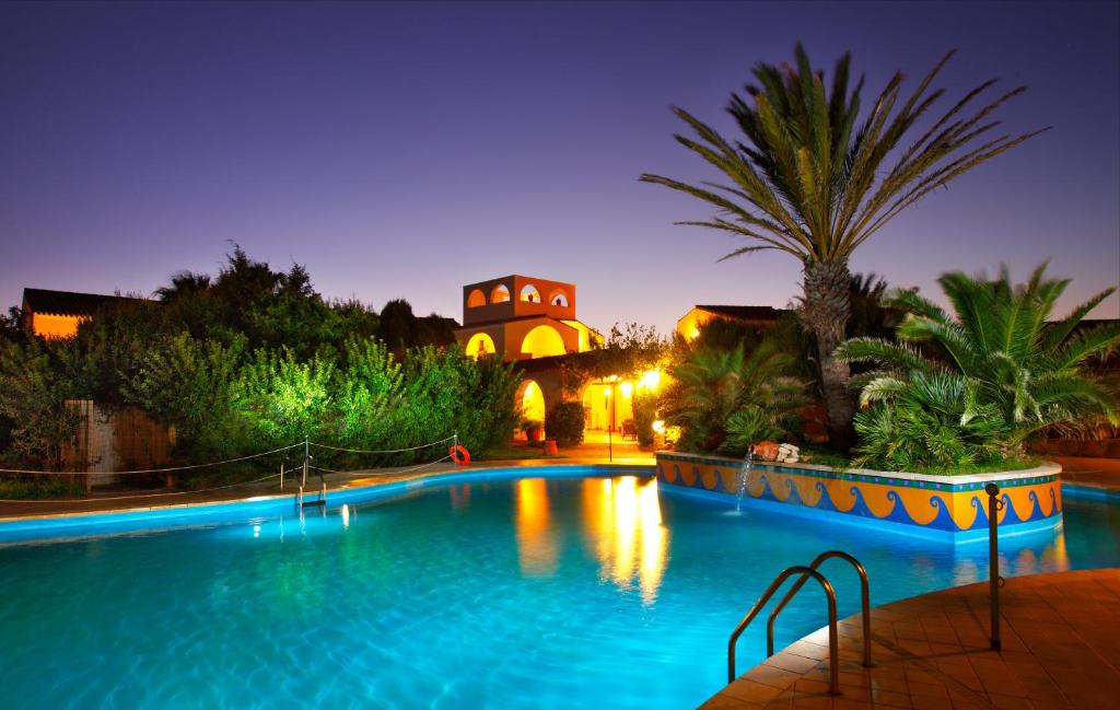 The swimming pool at or near Hotel Luci Del Faro