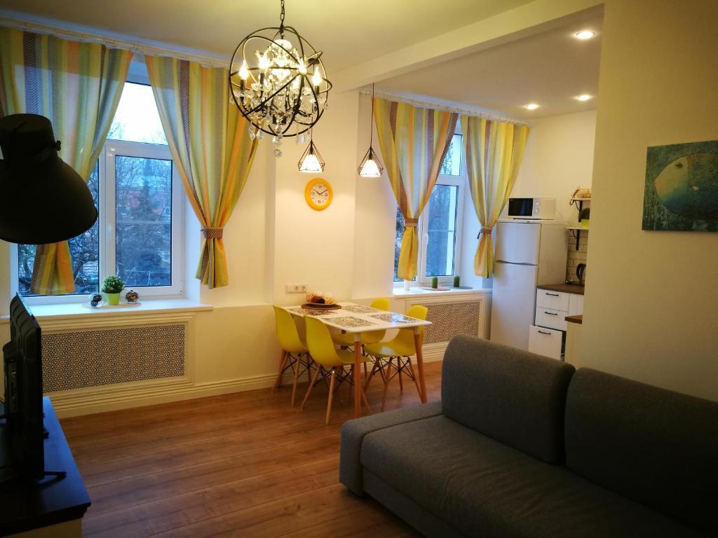 Area soggiorno di Apartment Avrora