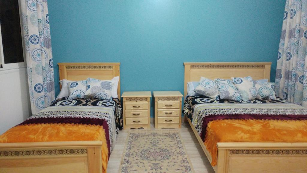 A bed or beds in a room at Diafa