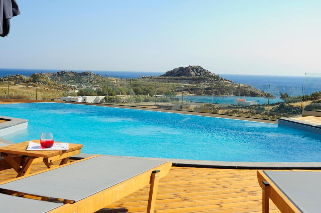 The swimming pool at or near Almyra Guest Houses