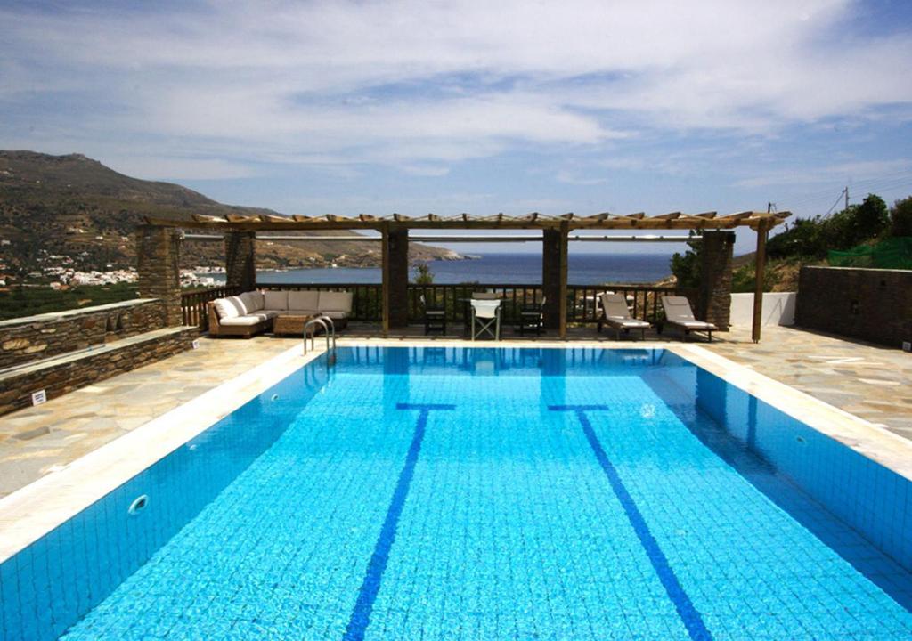 The swimming pool at or near Nicolas