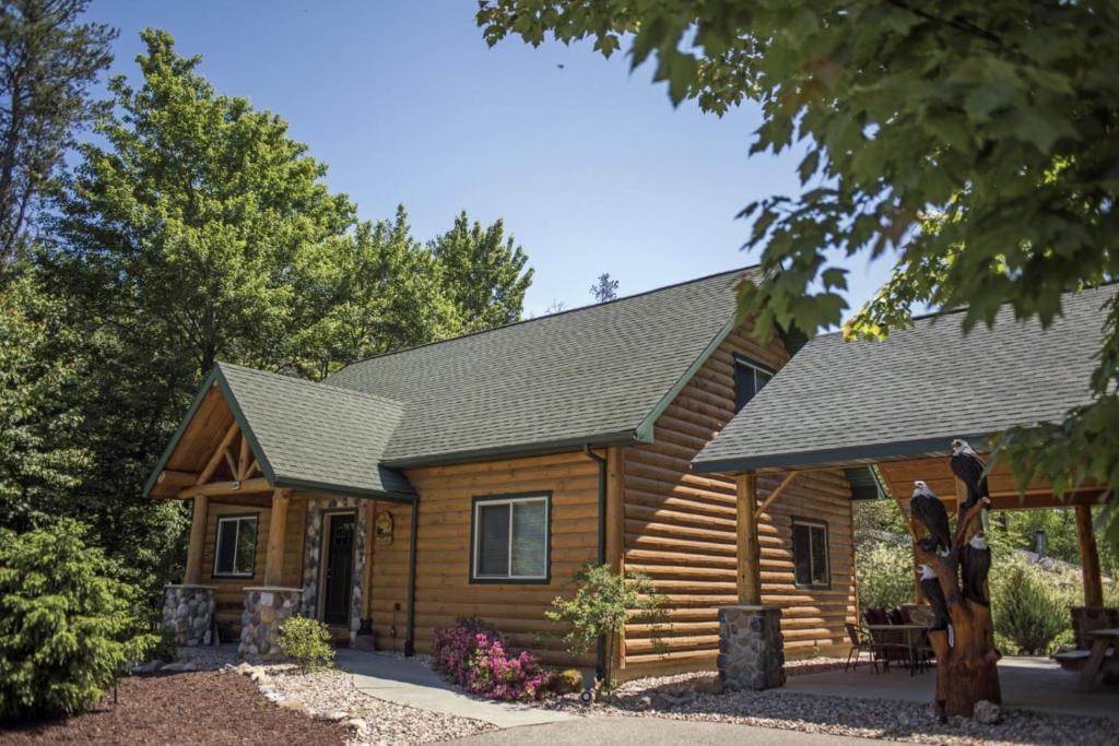 Vacation Home Linken Log Cabin Vld00218 Wisconsin Dells