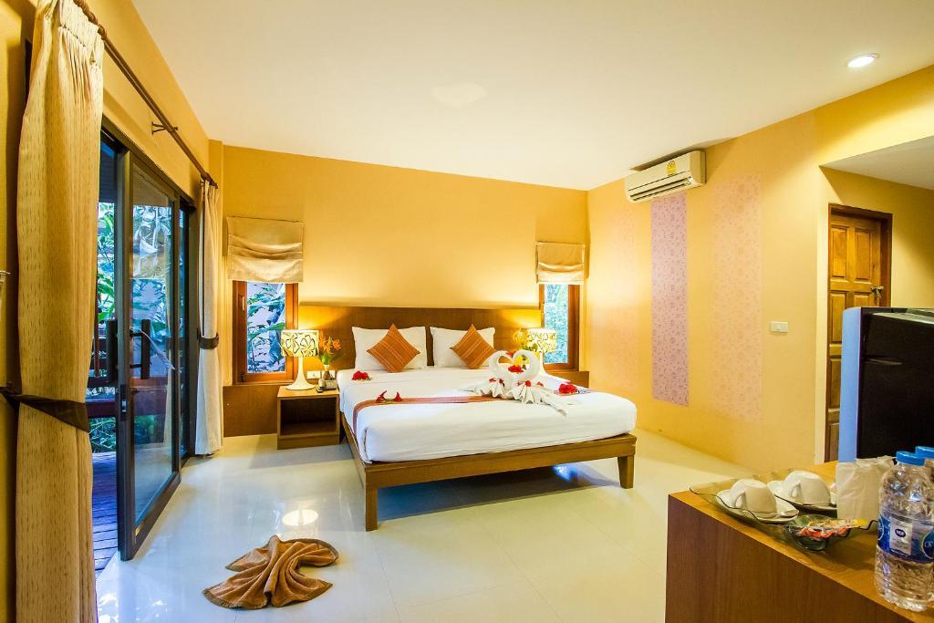 Krevet ili kreveti u jedinici u objektu Sunda Resort