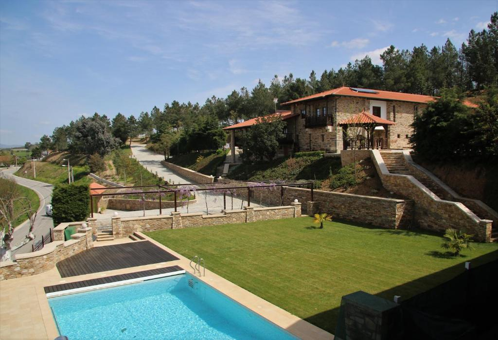 A view of the pool at O Casario or nearby
