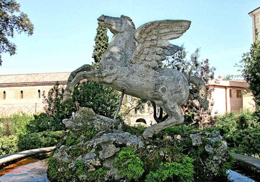 Fontana di Pegaso veduta su Villa D\'Este, Tivoli – Prezzi aggiornati ...