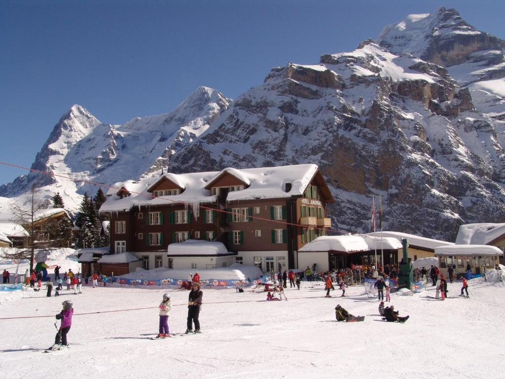 Image result for murren to jungfrau