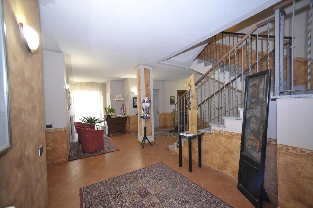 Hall o reception di Hotel Ristorante Borgovecchio