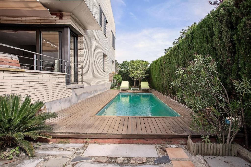 The swimming pool at or near Villa Alexa