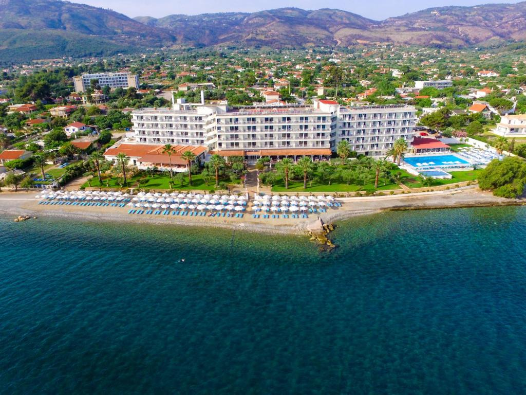 A bird's-eye view of Bomo Calamos Beach Hotel