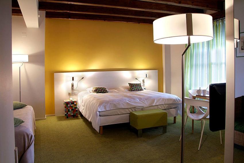 Un ou plusieurs lits dans un hébergement de l'établissement Le Moulin De La Wantzenau - Strasbourg Nord