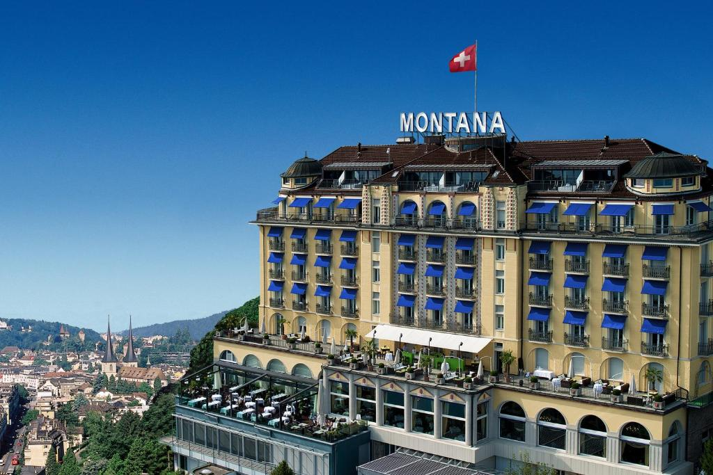 Art Deco Hotel Montana Lucerne Switzerland Bookingcom