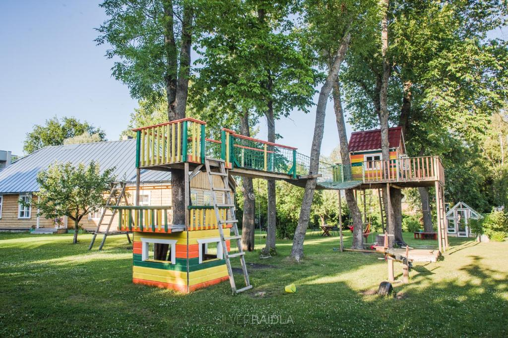 Children's play area at Marias House