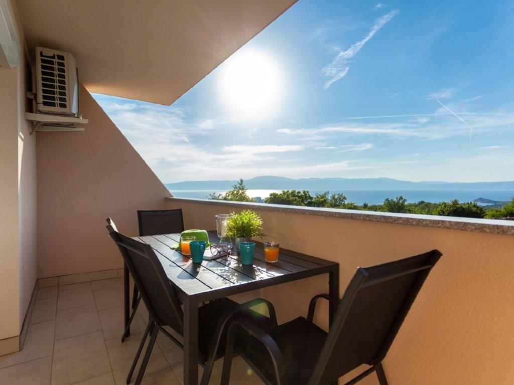 A balcony or terrace at Apartment Darija