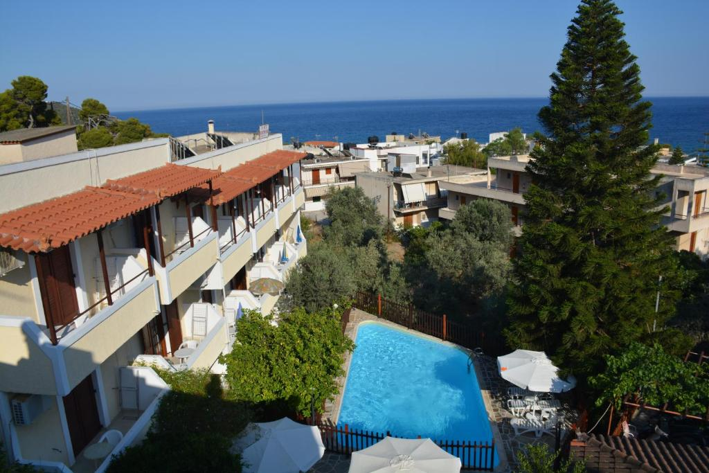 A view of the pool at Voula Apartments or nearby