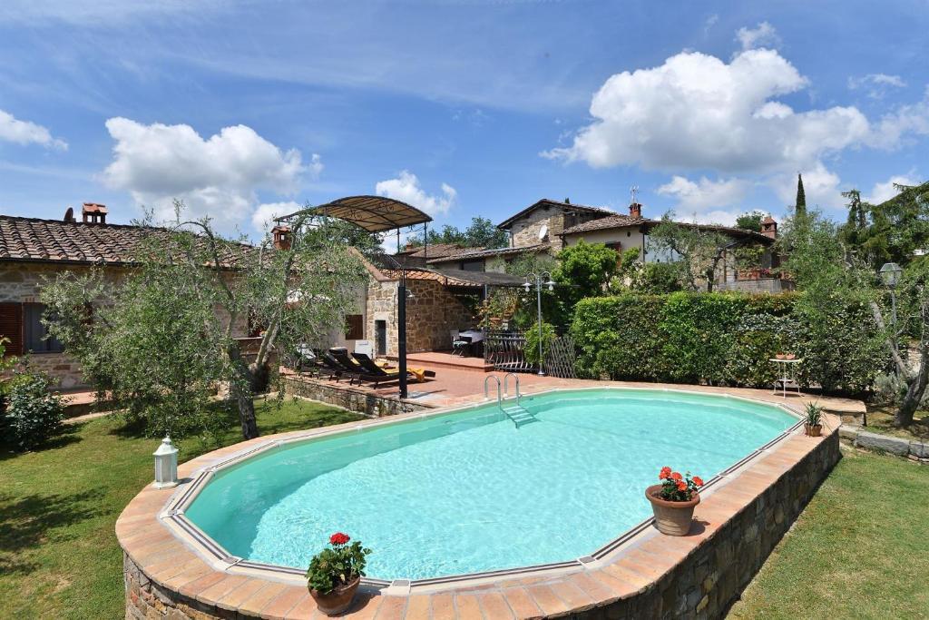 La Terrazza Della Villa Radda In Chianti Italy Booking Com
