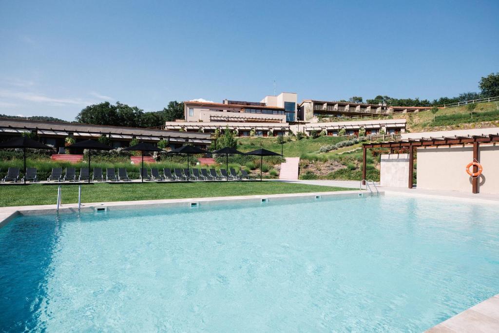 The swimming pool at or near Mas Salagros EcoResort & SPA