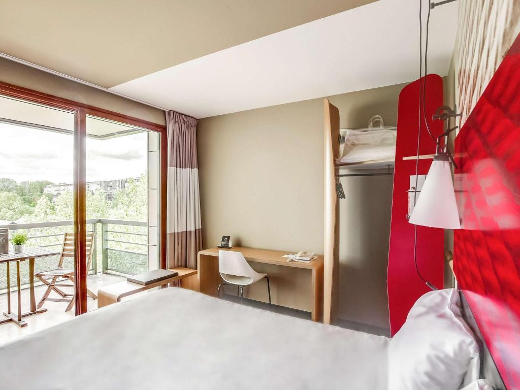 Letto o letti in una camera di ibis Paris Bercy Village