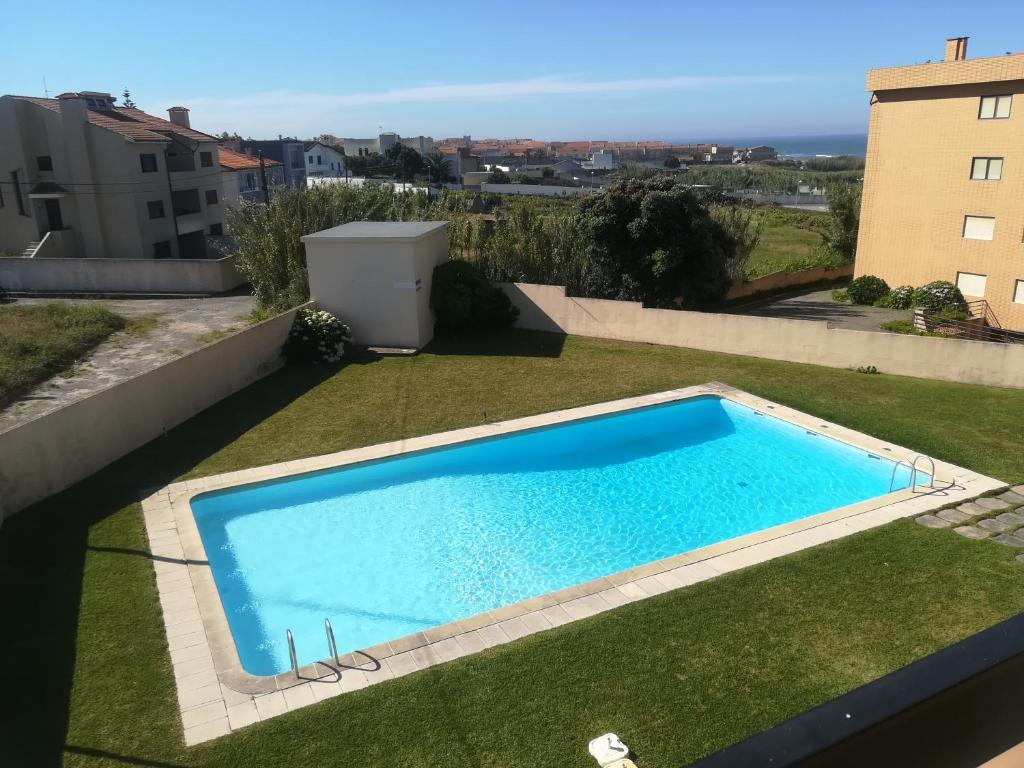 A view of the pool at Vila Cha Apartment or nearby