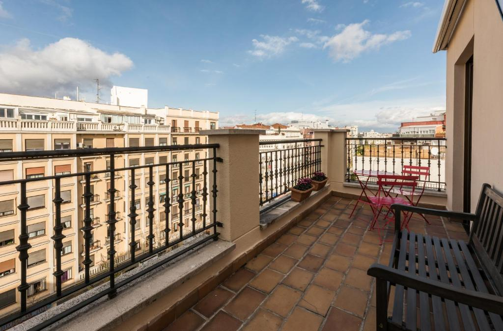 Appartement Atico Duplex Barrio Salamanca (Spanje Madrid ...