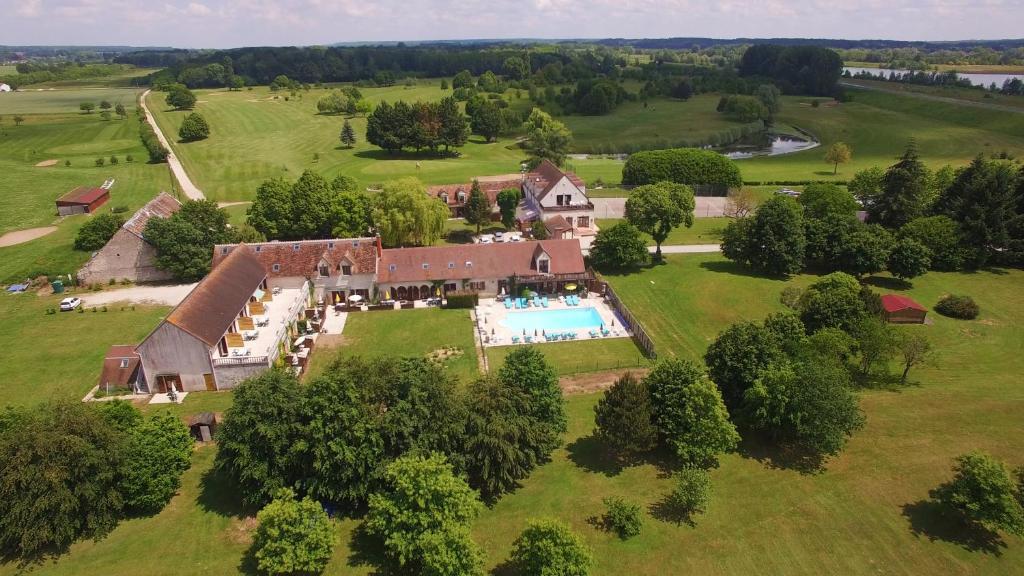 Vista aerea di Golf Hotel de la Carte