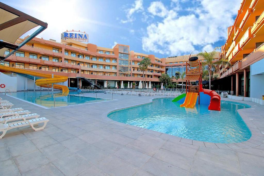 Aquapark v apartmánovom hoteli alebo blízkom okolí