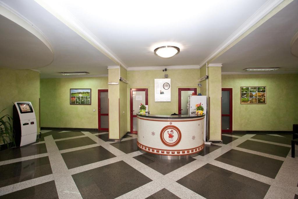 Lobby/Rezeption in der Unterkunft Botanic apart hotel