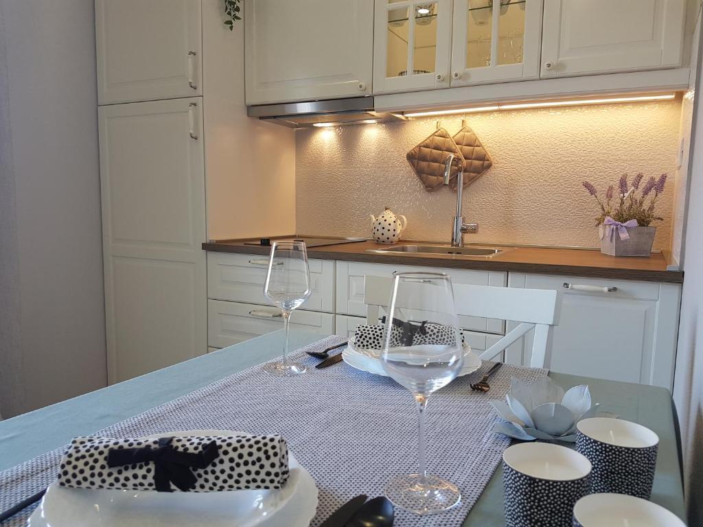 Cucina o angolo cottura di Apartments Iris