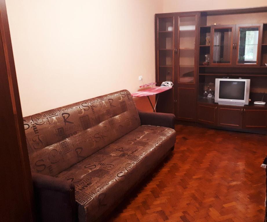Гостиная зона в Апартаменты на Южно-Моравской
