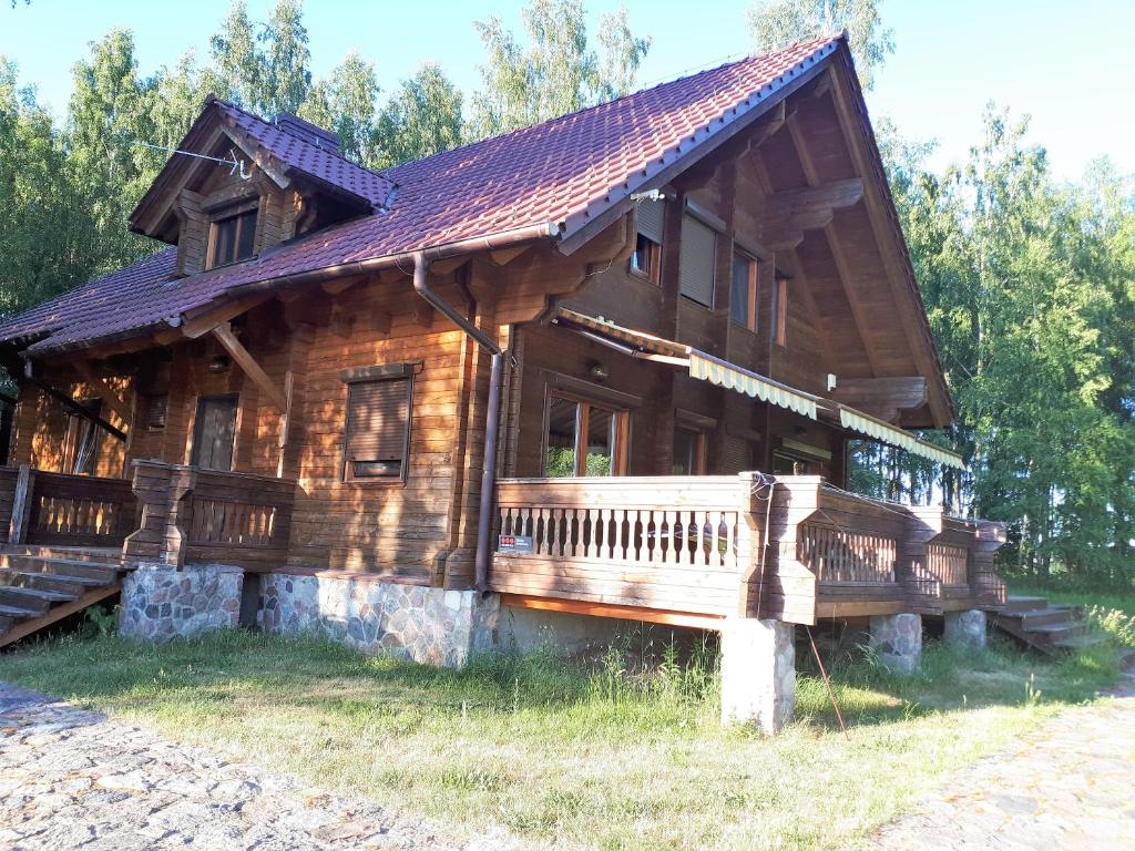 Holiday Home Dom Nad Jeziorem Stacze Poland Booking Com