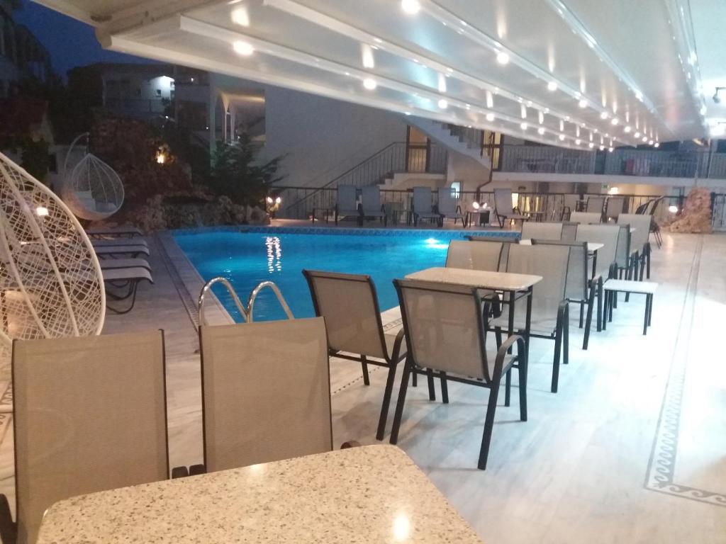 The swimming pool at or near Pegasus