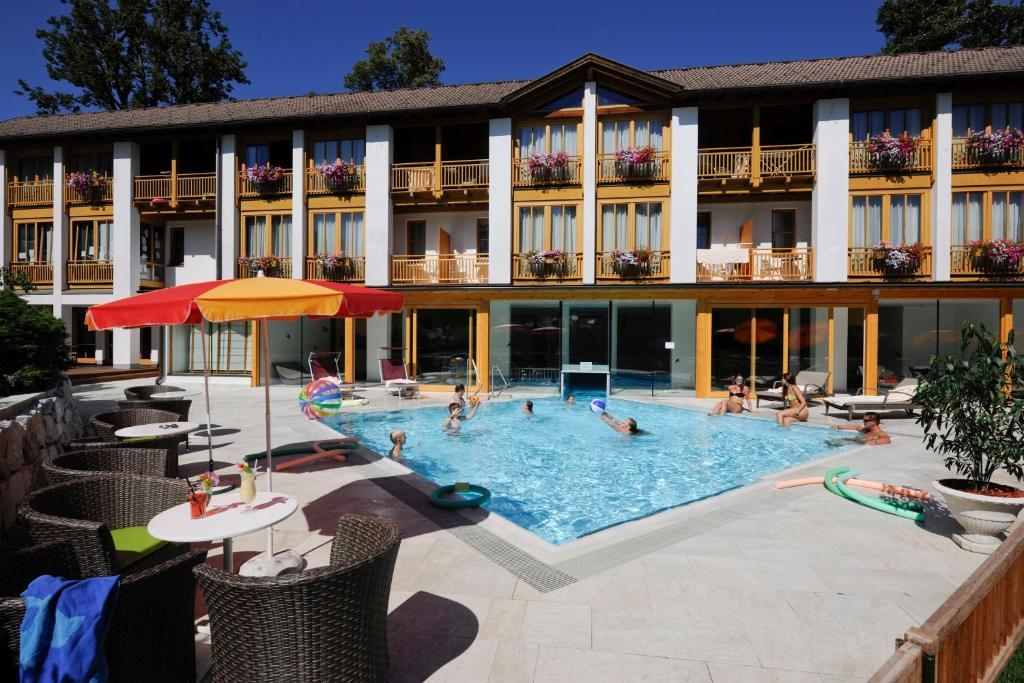 The swimming pool at or near Hotel Urbani