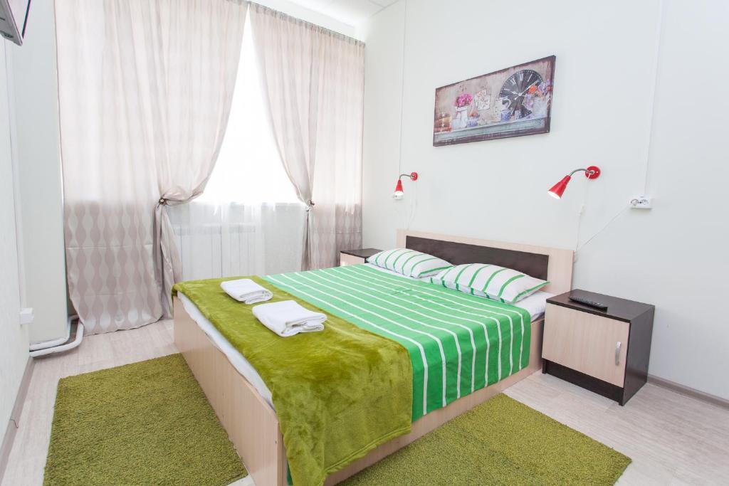A bed or beds in a room at Hostel Artist on Semenovskaya