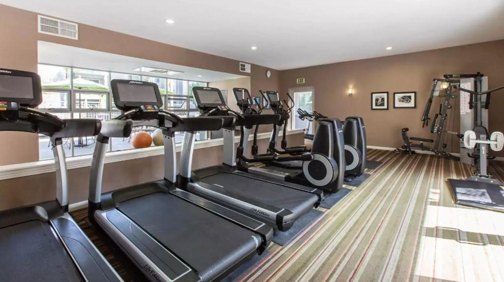 The Fitness Centre And Or Facilities At Victor On Venice By Synergy