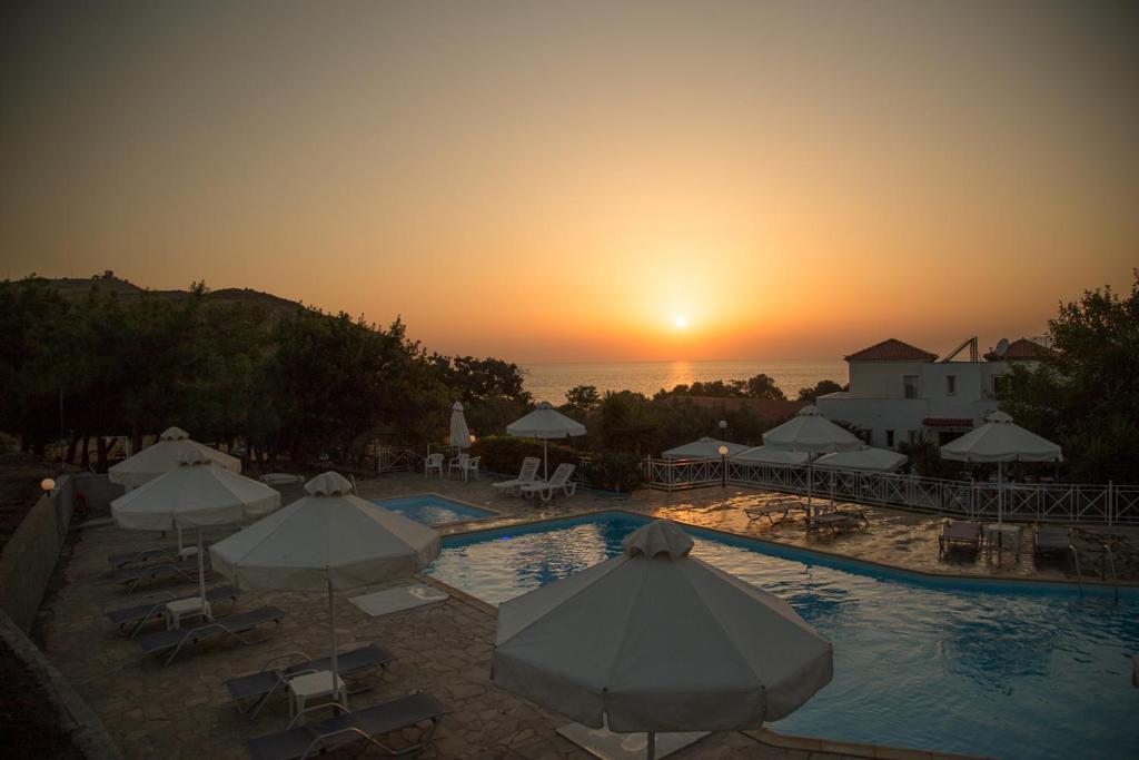The swimming pool at or near Akti Hotel & Apartments