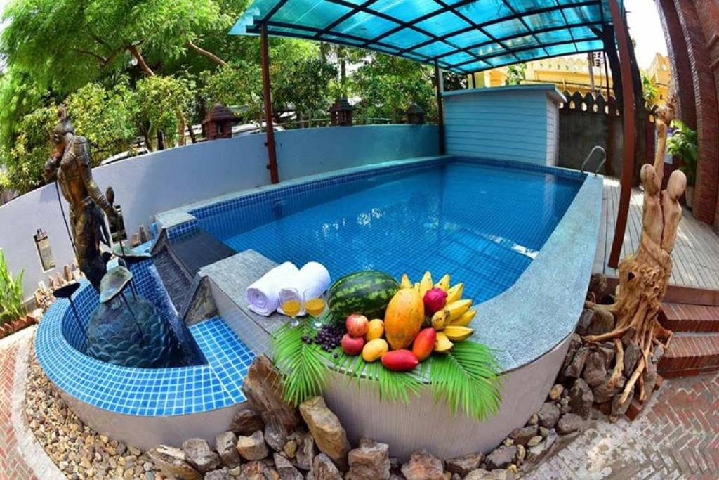 The swimming pool at or near Northern Breeze Hotel